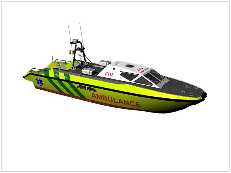 Technical sheet MNI15 Ambulance
