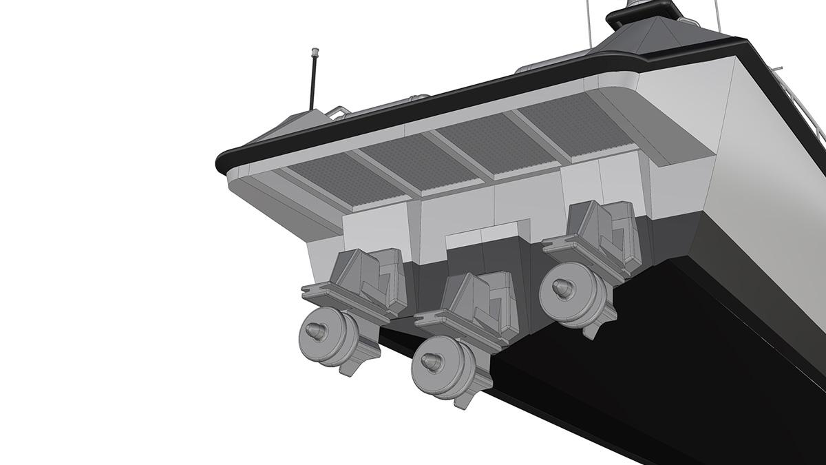 Option C - Stern Drive